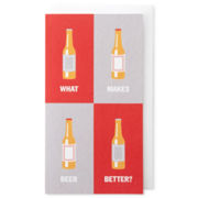 MarthaCelebrations™ Birthday Card – Drinks