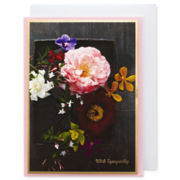 MarthaCelebrations™ Sympathy Card – Flowers