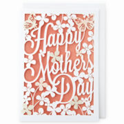 MarthaCelebrations™ Mother's Day Card – Flowers & Butterflies