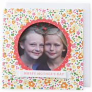 MarthaCelebrations™ Mother's Day Card – Floral Photo Pocket