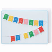 MarthaCelebrations™ Graduation Card – Congrats to You Banner