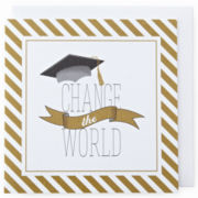MarthaCelebrations™ Graduation Card – Change the World