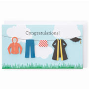 MarthaCelebrations™ Graduation Card – Laundry