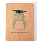 MarthaCelebrations™ Graduation Card – Look Whooo Owl