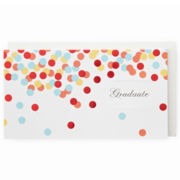 MarthaCelebrations™ Graduation Card – Confetti