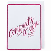 MarthaCelebrations™ Graduation Card – Congrats to You