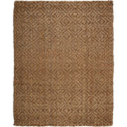 Perfect Diamond Jute Rectangular Rugs