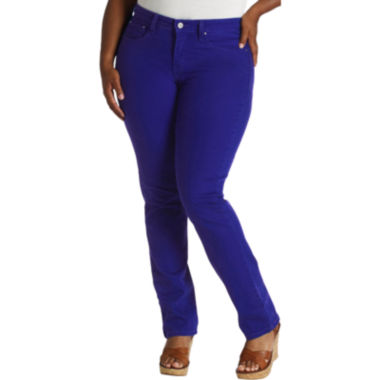 jcpenney.com | Levi's® 512™ Perfectly Shaping Skinny Jeans - Plus Short