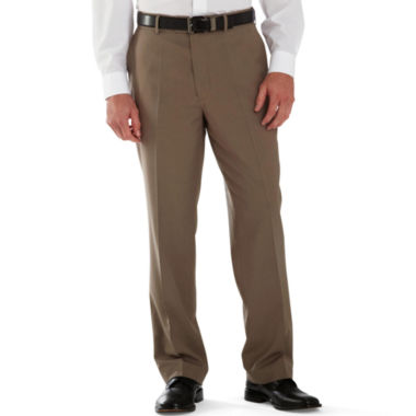 jcpenney.com | Stafford® Year-Round Flat-Front Pants–Big & Tall
