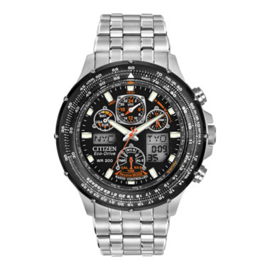 jcpenney.com | Citizen® Eco-Drive® Skyhawk Mens Atomic Timekeeping Watch JY0000-53E