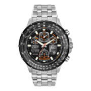 Citizen® Eco-Drive® Skyhawk Mens Atomic Timekeeping Watch JY0000-53E