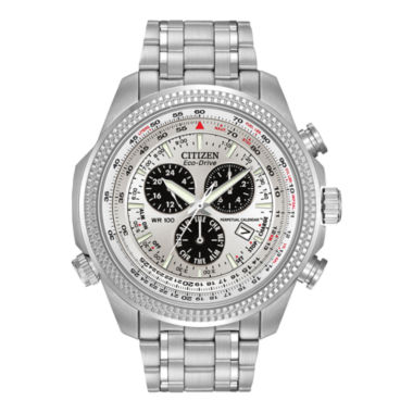 jcpenney.com | Citizen® Eco-Drive® Mens Alarm Chronograph Watch BL5400-52A