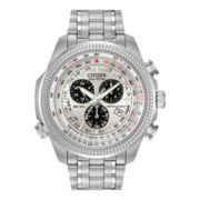 Citizen® Eco-Drive® Mens Alarm Chronograph Watch BL5400-52A