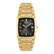 Citizen® Eco-Drive® Mens Gold-Tone Watch BM6552-52E