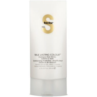 jcpenney.com | S Factor™ by TIGI® True Lasting Colour Shampoo - 6.76 oz.