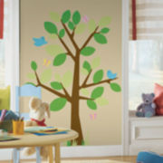 Dotted Tree Wall Decal