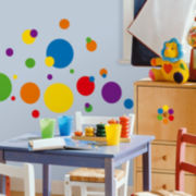 Just Dots Wall Decal - Multicolor