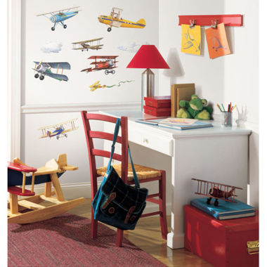 jcpenney.com | Art.com Vintage Planes Wall Decal