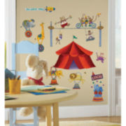 Big Top Circus Wall Decal