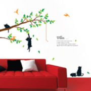 Art.com Kitten Poem Tree Wall Decal