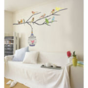 Birds in Tree Wall Decal