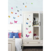 Patterned Butterfly Wall Decal
