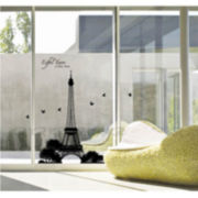 Art.com Eiffel Tower Silhouette Wall Decal