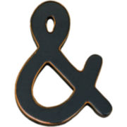 """&"" Wood Sign Wall Decor"