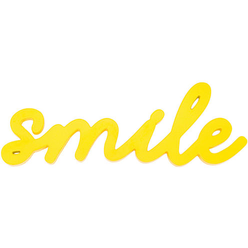"Art.com ""Smile"" Wood Sign Wall Decor"