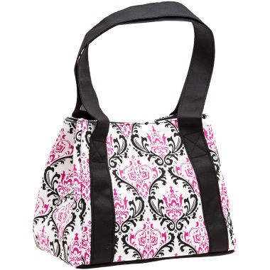 jcpenney.com | Fit & Fresh® Pink Damask Venice Lunch Bag with Ice Pack