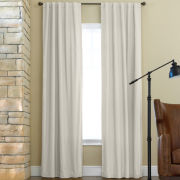 JCPenney Home™ Jenner Rod-Pocket/Back-Tab Thermal Curtain Panel