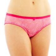 Flirtitude® Spring Lace Boykini Panties
