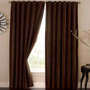 Absolute Zero Rod-Pocket/Back-Tab Blackout Home Theater Curtain