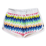 Okie Dokie® Dolphin Shorts - Girls 12m-6y