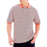 IZOD Short-Sleeve Piqué Oxford Polo-Big & Tall