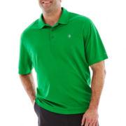 IZOD Short-Sleeve Piqué Golf Polo-Big & Tall