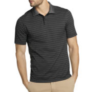 Van Heusen® Short-Sleeve Thin-Striped Polo