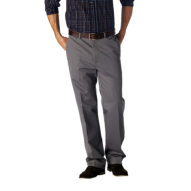 jcpenney.com | Haggar® Work to Weekend® Straight-Fit Flat-Front Khakis