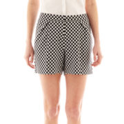 Worthington® Pleated Jacquard Shorts