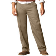 Dockers® D3 Signature Classic-Fit Flat-Front Pants-Big & Tall