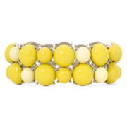 Mixit™ Yellow Bead Stretch Bracelet