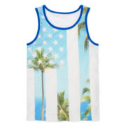Arizona Sleeveless Print Tank Top - Boys 8-20