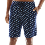 Stafford® Printed Knit Pajama Shorts - Big & Tall