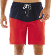 U.S. Polo Assn.® Colorblock Swim Trunks