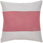 IZOD® Beacon Stripe Square Decorative Pillow