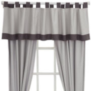 IZOD® Beacon Stripe Tab-Top Valance