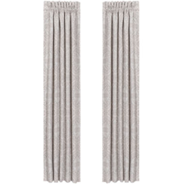 jcpenney.com | Queen Street® Carlina 2-Pack Curtain Panels
