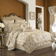 Queen Street® Serafina 4-pc. Jacquard Comforter Set & Accessories