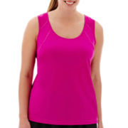 Xersion™ Mesh-Back Tank Top - Plus