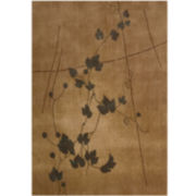 Nourison® Trailing Vines Rectangular Rug